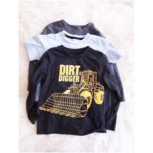 3 piece bundle boys 3T shirts